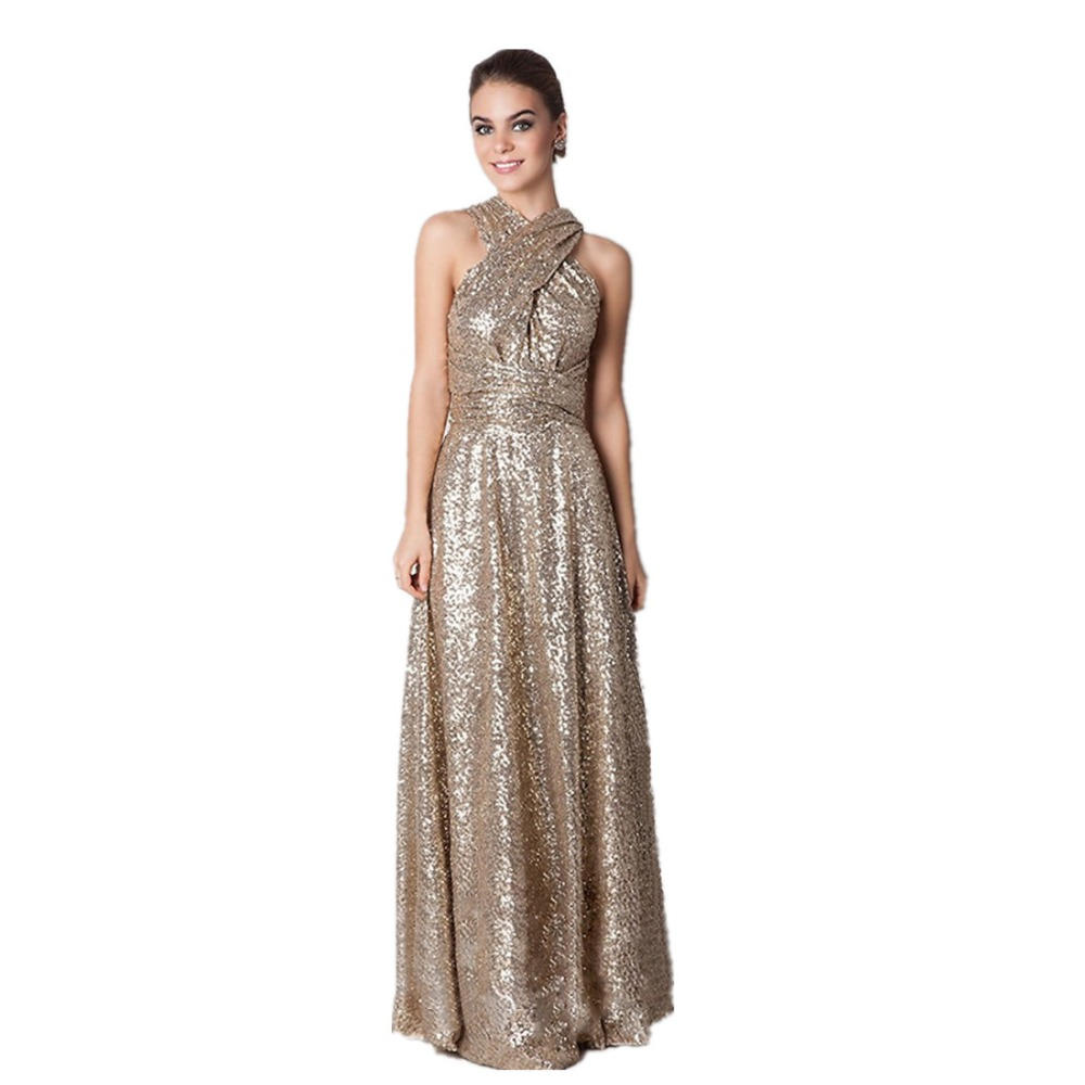 Compare prices on champagne long bridesmaid dresses online 2017 long sequind rose goldchampagne bridesmaid dresses maid of honor convertiable maternity plus size ombrellifo Gallery