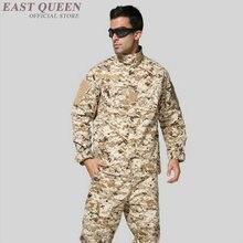 a0ce612a1b5 Americano deserto uniforme militar do exército dos eua tactical camuflagem  das forças especiais uniformes de combate vestuário t.