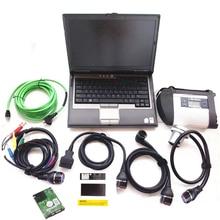 Mb estrella c4 sd conecta con el ordenador portátil para dell d630 con 2017.12 lo nuevo software mb sd c4 hdd 250 gb de diagnóstico escáner listo para usar