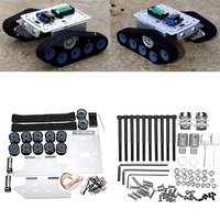 DIY Remote Control Tank Track Chassis Smart Robot Car Kit
