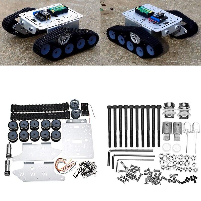 Bricolage télécommande réservoir piste châssis Robot voiture intelligente Kit