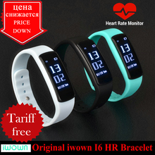 Iwown i6 hr smartband /bluetooth 4.0