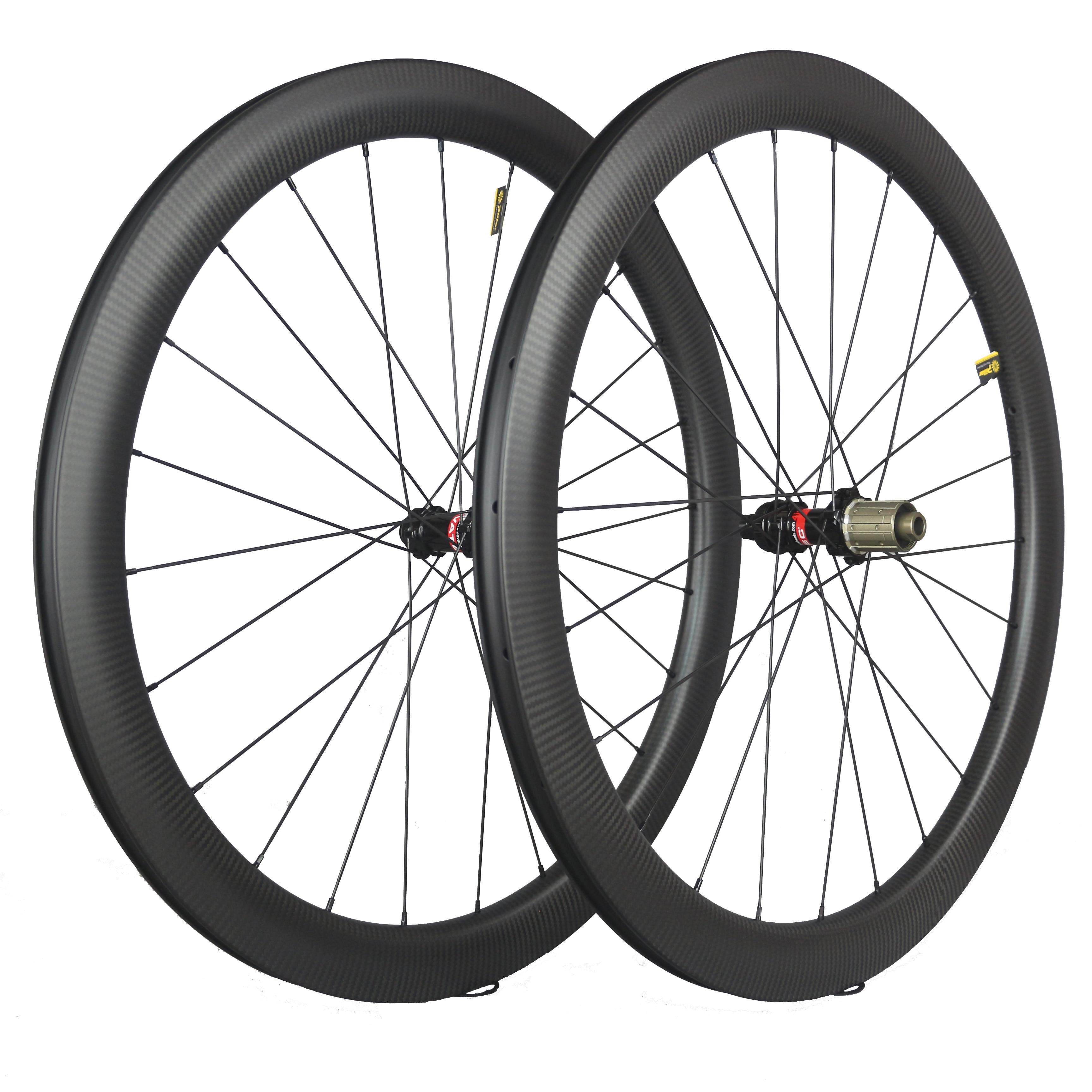 2019 New arrivals 3K twill road bike 50C wheels Pillar 1423 spoke D411/D412 front 12x100, rear 142x12   Gravel bike Wheels