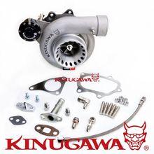 Kinugawa Billet Turbocharger 4 Anti Surge T67-25G 7cm Oil-Cooled for SUBARU WRX STI