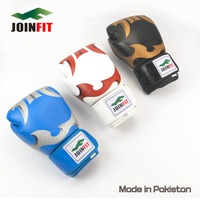 Cow Hide Leather Boxing Gloves Sparring Punching Glove Bag Mitts kickboxing Training Muay Thai