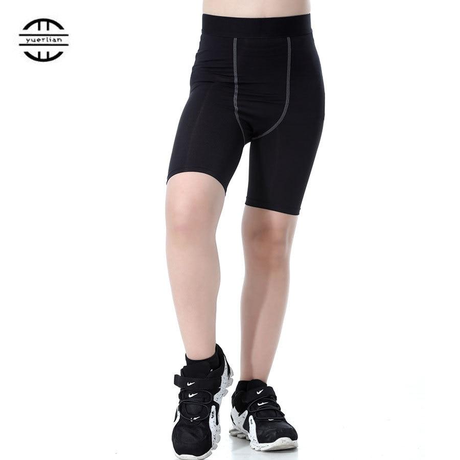 Yuerlian New Gym Leggings Sports Tight Fitness Football Kits 2016/17 Sportswear Basketball Jersey Boys And Girls Running Shorts