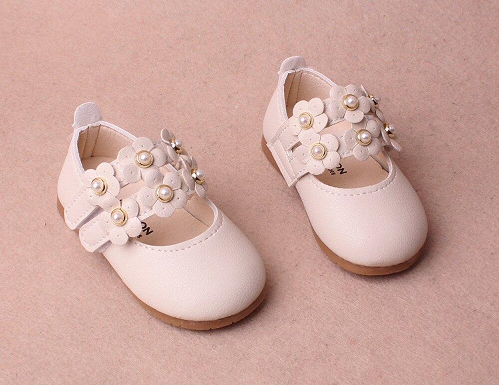 Lederschuhe Baby Mädchen Bogen Bling Pu Leder Neugeborenen Babys 2018 Mode Schuhe Non-slip Prewalkers # Qj Mangelware