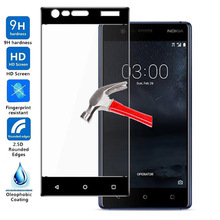 Full Cover Screen Protector For Nokia 3 Tempered Glass Protective Film For Nokia3 TA-1020 TA-1032 TA 1020 1028 1032 1038 5.0