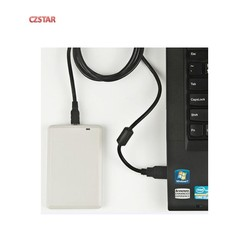usb rfid uhf reader and writer passive ISO18000-6C uhf tags programmer with English SDK demo software user manual source code
