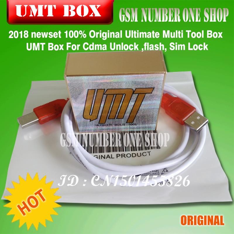 100% Originele Ultimate Multi Tool Box UMT Doos Voor Cdma Ontgrendelen, flash, Sim Lock
