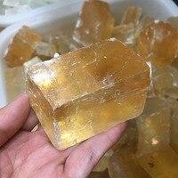 Оптический кальцит сырье Исландии Spar натуральные камни и минералы целебные камни