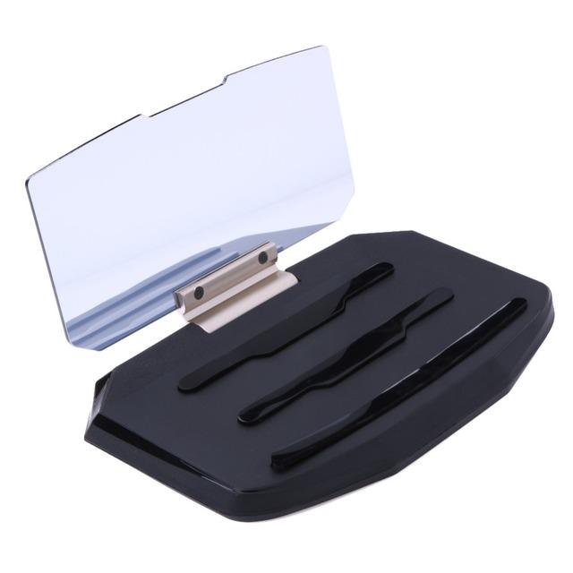 Navegação gps suporte móvel universal hud cabeça up display para o telefone inteligente para iphone samsung montar titular suporte do telefone do carro