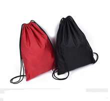 Mochila con cordón Hombres Mujeres Impermeable Ligero Trave Bolso de Lazo de La Moda Bolsa de Hombro para Adolescente Niños Niñas