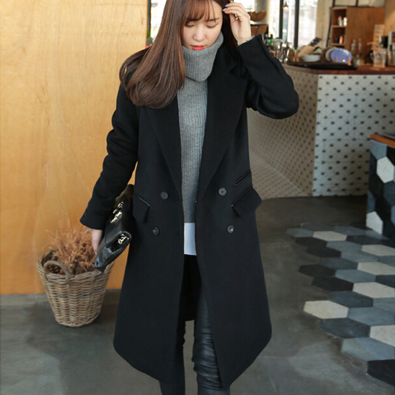 Online Get Cheap Women's Black Coat -Aliexpress.com | Alibaba ...