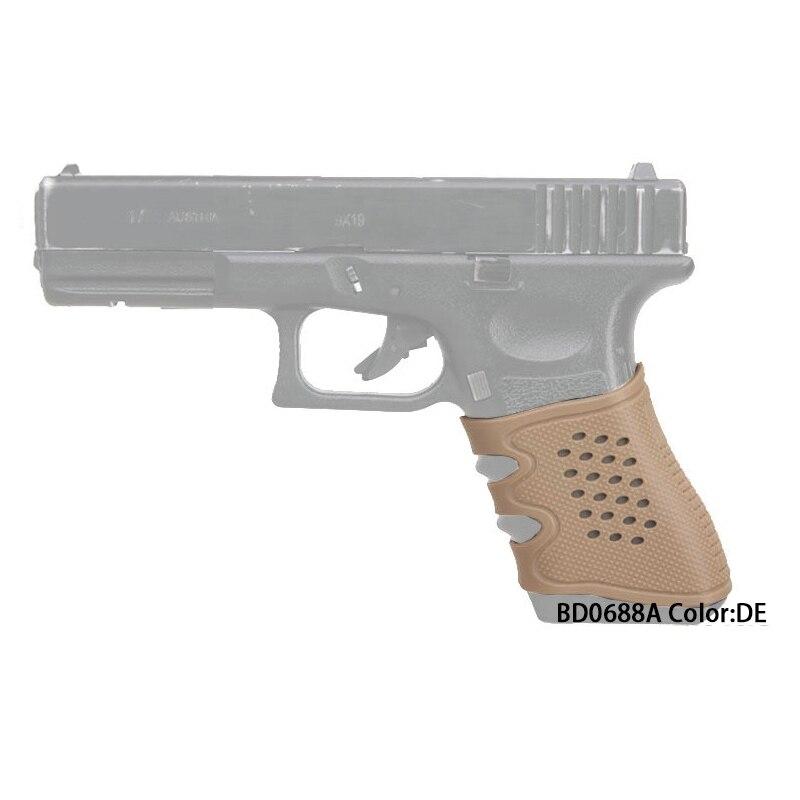 Emerson pistola agarre de goma suave guante táctico antideslizante ...