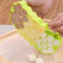 37 Кубиков Льда Сотовые Мороженого Форма DIY Появляется Плесень Формочки для мороженого Йогурт Ice Box Холодильник Лечит Морозильника Мороженое Инструменты