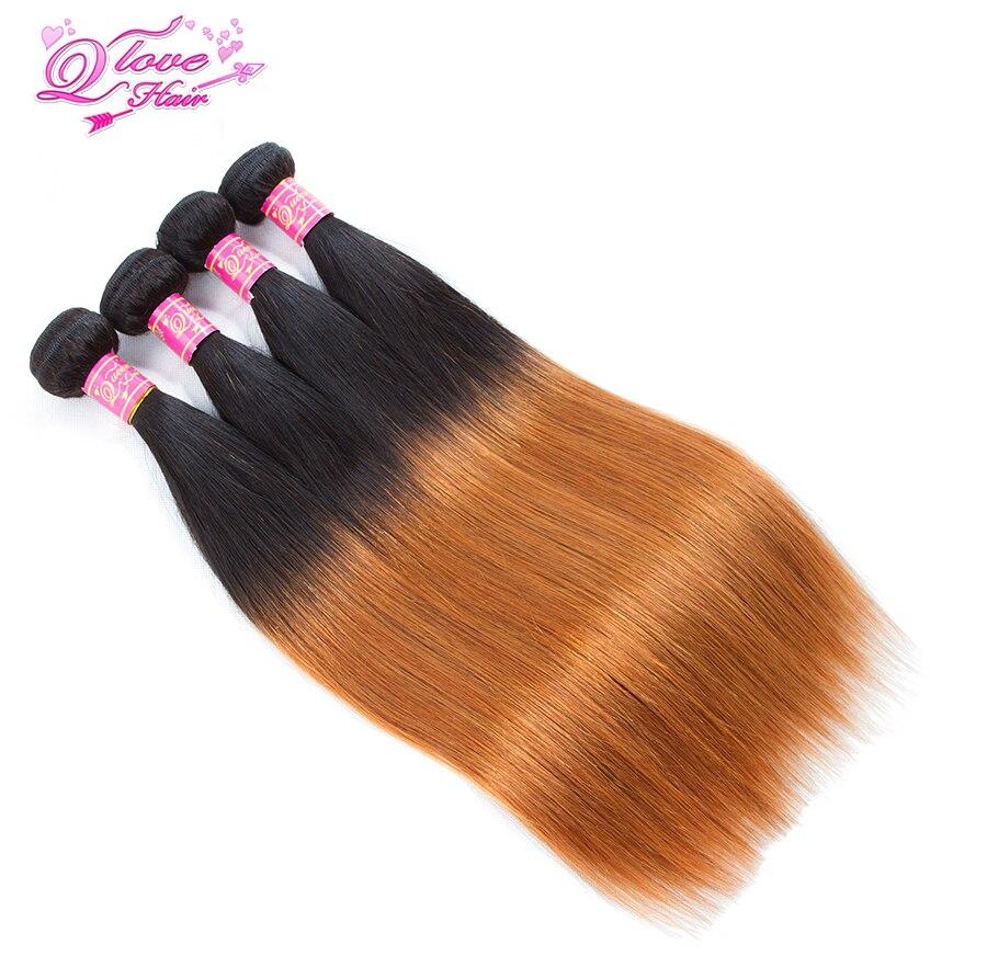 Queen Love Hair Non Remy Hair 1B 30 Pre Colored 100 Human Hair Weave Malaysian 4
