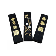 Plum Blossom Ink Stick Chinese Traditional Painting Oil Soot Block Calligraphy Writing Practicing Solid Pine-soot