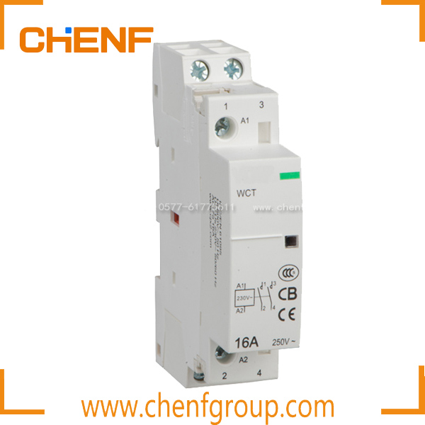 Free Shipping 16A Teco Ac Magnetic Contactor/ 1P 2NO Types