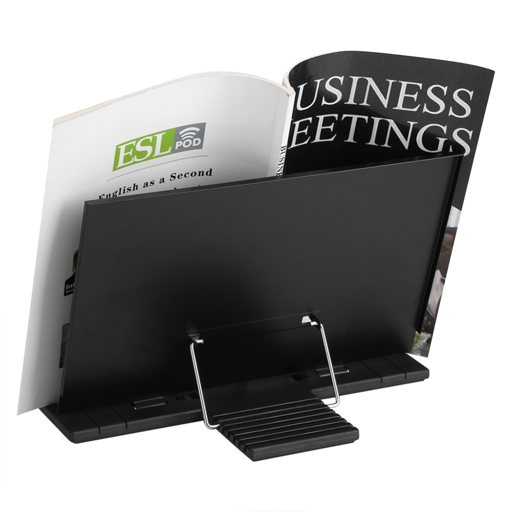 aliexpress buy portable steel book stand bookstand adjustable tilt reading desk holder