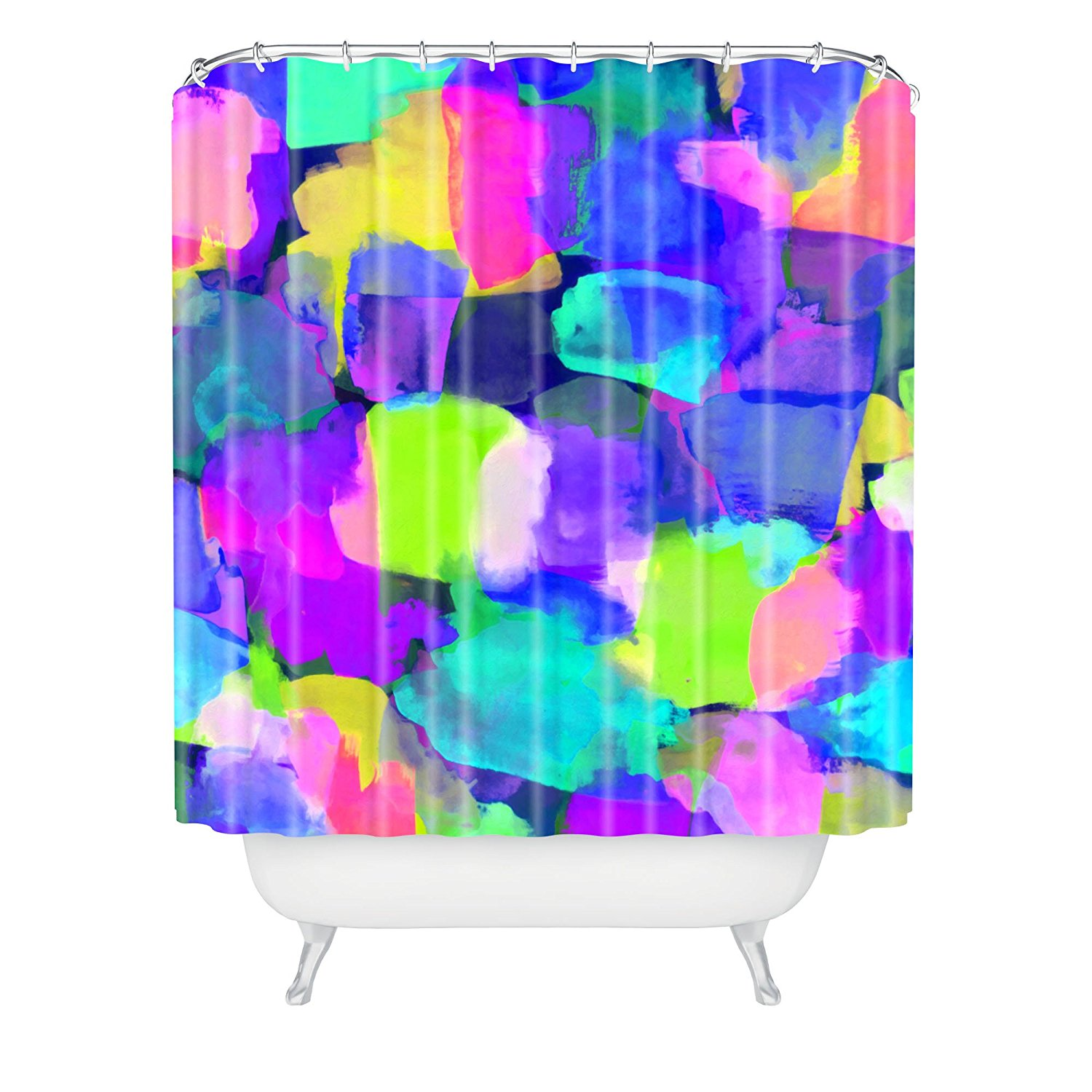 holly sharpe tropical girl shower curtain 69 by 72inchchina mainland