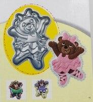 fondant-cake-design-cartoon-creative-cute-dancing-bear-non-stick-cake-aluminum-bakeware-happy-bear-model-cake-pans-free-shipping