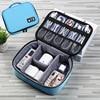 متعددة الوظائف حقيبة التخزين الرقمية كابل بيانات usb سماعة سلك القلم قوة البنك المنظم المحمولة السفر كيت حالة الحقيبة