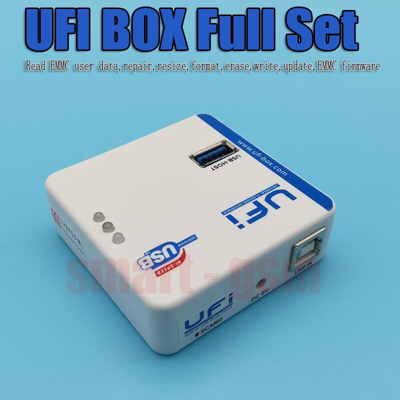 US $312 0  UFI BOX UFi Box powerful EMMC Service Tool Read EMMC user data,  repair, resize, format, erase, write update firmware EMMC-in Telecom Parts