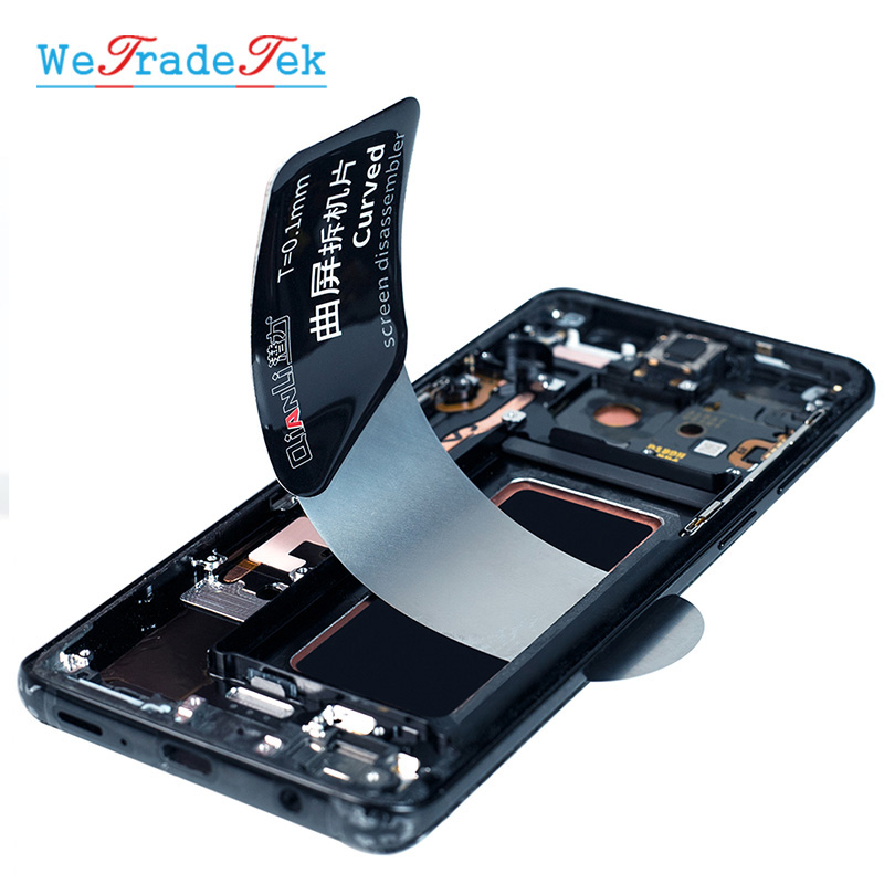 Qianli Tool Ultra Thin Pry Spudger Disassembling Card Dedicated For Curved Screen Samsung IPhone IPad Screen Opening Tool