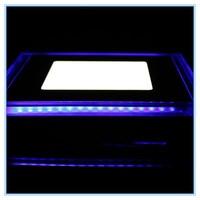 10W Indoor Decoration Modern LED Panel Light 220V 110V Square Acrylic LED Recessed Down Light Warm