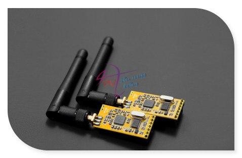 DFRobot APC220 Радио Модуль Беспроводной Связи, 3.3 ~ 5 В 1000 м UART/TTL Встроенный сторожевой пес с Антенной + USB для TTL Конвертер