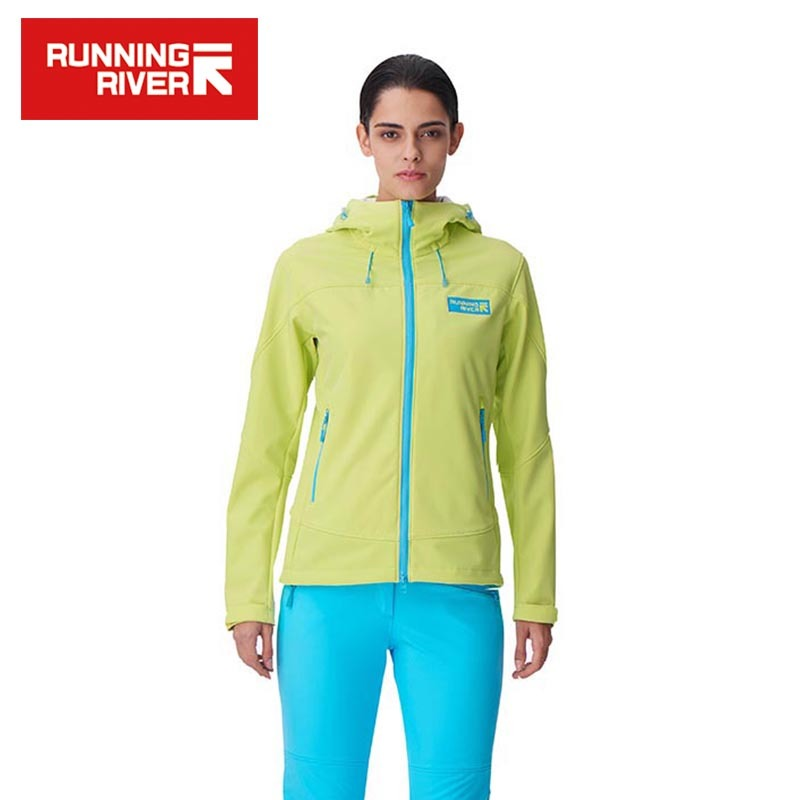 RUNNING RIVER Brand 2017 Softshell For Women Waterproof Windproof Thermal High Quality Sport Coat Outdoor Clothes #E6182A title=