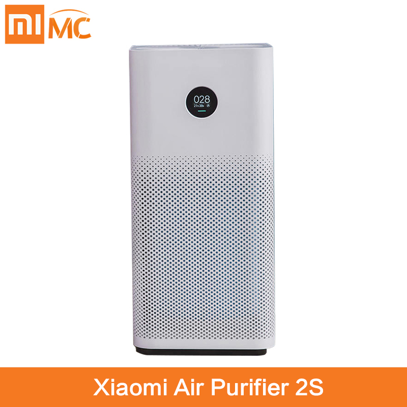 Xiaomi Mi Air Purifier 2S MIJIA Formaldehyde Cleanner Automatic Home Air Fresher Detector MIJIA APP Remote