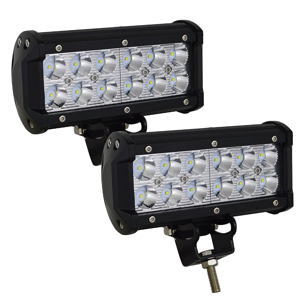 Willpower 36w Flood LED Headlight Car Work Light Off Road LED Light Bar Super Bright for Cabin Boat SUV truck Car ATVs 5inch 72w two rows led light bar modified off road lights roof light bar for car vehicles suv