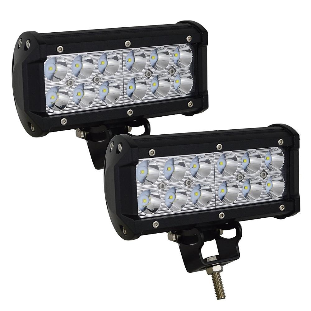 Willpower 36w Flood LED Headlight Car Work Light Off Road LED Light Bar Super Bright for Cabin Boat SUV truck Car ATVs