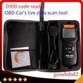 D900 CANBUS OBD2 считыватель кодов OBD2 Live PCM считыватель кодов данных сканер Авто Код EOBD диагностический Автомобильный сканер d900