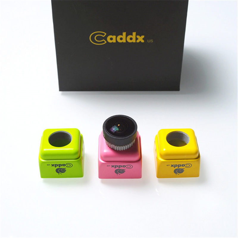 CADDX Turbo F1 1/3 CMOS 2.0mm 1200TVL NTSC/PAL Switchable 16:9/4:3 Mini FPV Camera Yellow /Green /Pink For RC Model Multicopter