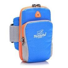 TANLUHU 362 Nylon Adjustable Cycling Running Arm Bag Wrist Bag For Mobile Phone Case Gym Sport Running Bag Arm Package цена 2017