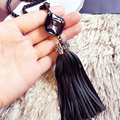 Korea style Necklace Costume Jewelry Good Quality Decoration Faux Leather Tassel Necklace  FREE SHIPPING