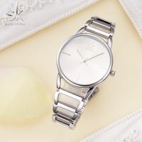 SK Hollow Luxury Brand Gold Women S Bracelet Watches Lady Waterproof Fashion Dress Watch Woman Clock