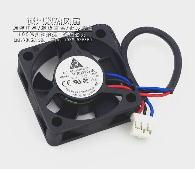 New Delta AFB0312HA 3010 30mm 3cm 12V 0.15A   Silent Fan Notebook Fan CPU Cooler Fan Cooling Fan 2/3Wire