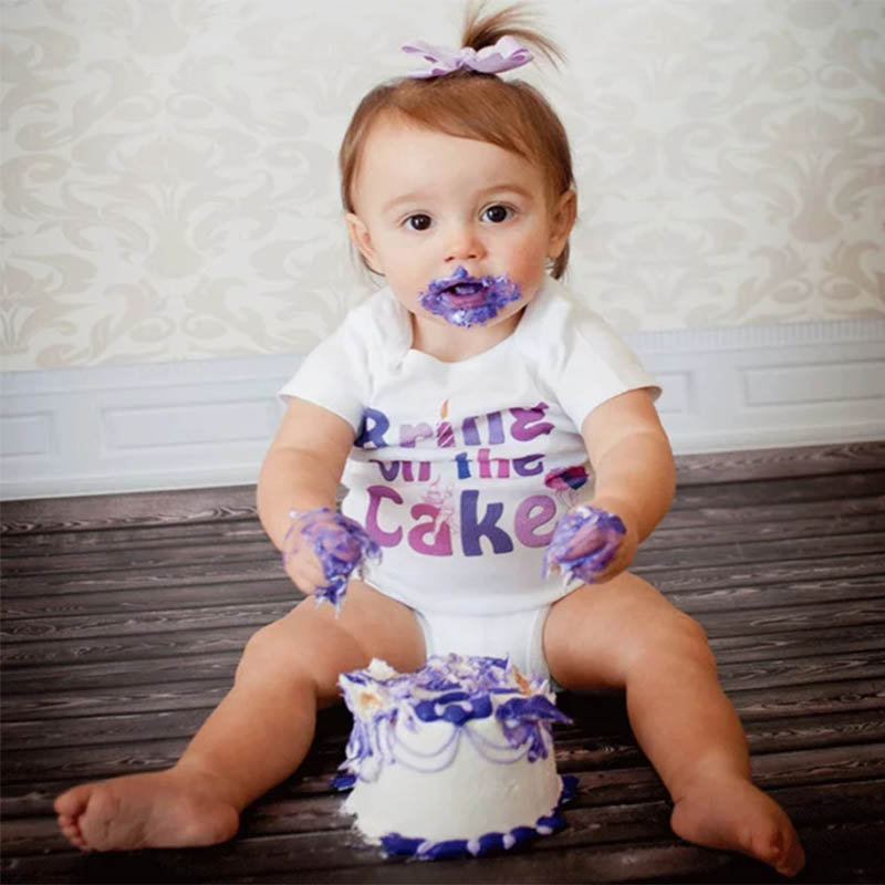 f73f5ca42170f Culbutomind 2018 Summer White Short Sleeve Bring on the Cake Girl ...