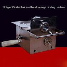 1pc Hand sausage binding machine SAUSAGE tying machine sausage sealing machine strapping knotting machine
