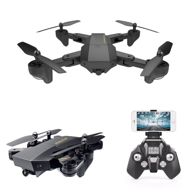RC Drone Mini Foldable Selfie Drone with Wifi FPV 2MP Camera