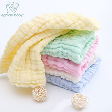 3Pcs Baby Muslin Washcloths Natural Cotton Wipes Soft Newborn Face Towel Washcloth for Sensitive Skin
