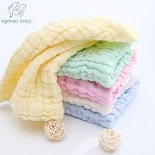 3Pcs Baby Muslin Washcloths Natural Cotton Wipes Soft Newborn Face Towel Washcloth for Sensitive Skin