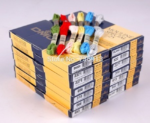 Choose Any Colors DMC Floss Embroidery Floss Thread Yarn--447 Pieces Old Colors + 16 Pieces New Colors