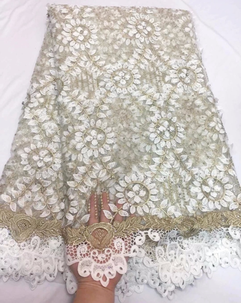 2018 Latest French Nigerian Laces Fabric High Quality Tulle African Laces Fabric Wedding African French Tulle Lace2018 Latest French Nigerian Laces Fabric High Quality Tulle African Laces Fabric Wedding African French Tulle Lace