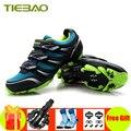 Tiebao профессиональная обувь для велоспорта MTB 2019  мужская спортивная обувь для гонок  велосипедные кроссовки с самоблокирующимся замком  кро...