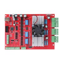 1 Set MACH3 CNC USB 100Khz Breakout Board 3 Axis Interface Driver Motion Controller